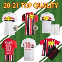 Sao Paulo 2020 2021 Dani Alves Fans Version Home Away 3. 20 21 COUTINHO Vinicius Torhüter Fußballshirts