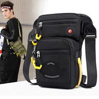 Waist bag packs Mens Fanny Pack Fashion Travel bag Bucket Shoulder bag handbag backpacks Waistpacks 2 colors in stock US