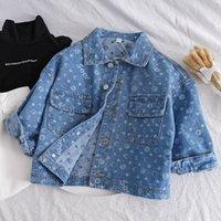 2020 Chaqueta de otoño Ropa para niños Baby Girl Permiso Jeans Casual Denim Abrigos y ropa de abrigo en niños Boys