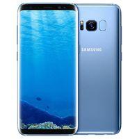 الأصلي تم تجديده Samsung Galaxy S8 G950F G950U 5.8 بوصة Octa الأساسية 4 جيجابايت رام 64 جيجابايت rom 12mp 3000 مللي أمبير 4 جرام lte الهاتف الذكي مجانا dhl 10 قطع