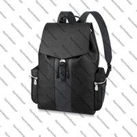 M30417 M30419 Открытый рюкзак подлинной коровьей кожи Eclipse холст дизайнер мужчин путешествия багаж пахенов кошелька сумки