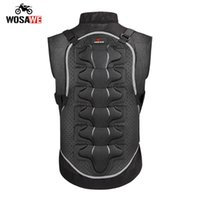 Wosawe Motorcycle Body Armor Colete Moto Proteção Motocross Proteção Corpo Armor Tactical Set para Adulto