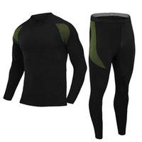 Esdy Открытый Новый Флисовой Тепловое белье Спортивные Функции Нижнее белье A901Running