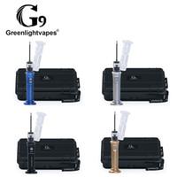 Greenlightsvape Henail Plus Balmumu Buharlaştırıcı G9 Taşınabilir Canlı Rig 2500 mAh Pil Carb Cap Dabber Aracı Titanyum Dab Polinail Kuru Herb W101 Için