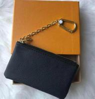 مفتاح الحقيبة m62650 pochette cles مصمم الأزياء إمرأة رجالي مفتاح حلقة بطاقة الائتمان حامل عملة محفظة مصغرة محفظة حقيبة سحر البني دروبشيبينغ