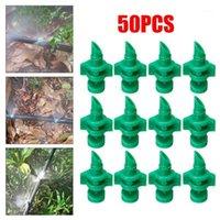 Satz von 50 stücke Bewässerung Sprinkler 180 Grad Brechung Zerstäubung Düse Kunststoffnebel Micro Spray Landwirtschaft Gartenwerkzeuge1