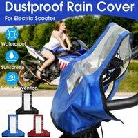 오토바이 커버 방수 야외 스쿠터 전기 자전거 커버 모터 비 코트 먼지 대부분의 스쿠터 모터에 적합 한 적합