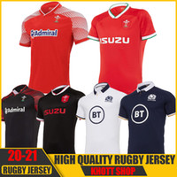 2020 2021 Pays de Galles Scotland Rugby Jersey 20 21 Home Away Welsh Pathway Taille S-5XL Chemise écossaise Maillot Camiseta Maglia