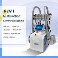 Cryolipolysis Free Freeze Machine Lipolaser Uso personal Crioterapia Lipo Lipo Láser Cavitación Ultrasónica RF Máquina de belleza para adelgazar