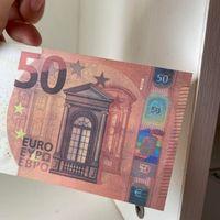 Prop-Geld-Banknote gefälschte kreative Euro-Papier 06 Dollar Normal 50 Kindergeschenk Filmgröße KKJVQ