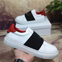 En Kaliteli Erkek Bayan Deri Rahat Ayakkabılar Ucuz En Iyi Moda Beyaz Deri Ayakkabı Düz Açık Havada Günlük Elbise Parti Ayakkabı Kutusu Ile Size36-45