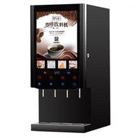 Shiya Instant Cafe Machine Comercial Automático Multi-Função Quente e Frio Escritório Leite Suco De Leite Beverage1