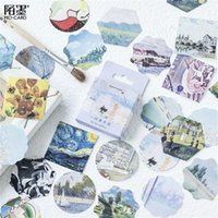 45 قطعة / الحزمة kawaii دفتر لطيف الفن معرض نمط مخطط يوميات اللوازم المدرسية هالوين هدية الشكر 1