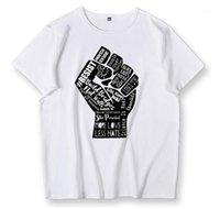 T-shirts hommes de Black Lives Matter Camisa Para Hombres Ropa Manga Corta Camiseta Casual Mujer Igualdad t Hombre Verano Tops Tee Hom1