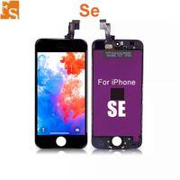 IPhone 5 5C 5 S SE LCD Ekran Dokunmatik Ekran Digitizer Tam Montaj Kulaklık Anti-Toz Örgü Ücretsiz Kurulu Ucuz Fiyat 100 adetgrup