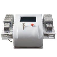 Nuovo stile del laser Lipo Nessuna riduzione del grasso chirurgico 650nm / 980nm Dual Wave Lipo Laser Machine