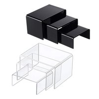 Jewelry Pouches, Bags 3Pcs/Set Acrylic Display Stand Collectible Showcase Storage Rack Shelf Holder For Cosmetics Toys Tool