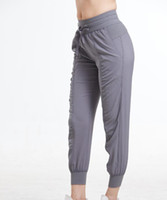 Женские пробежки Брюки Брюки активные спортивные штаны Тренировка йога лаундж трек брюки с карманами Леггинсы 1074