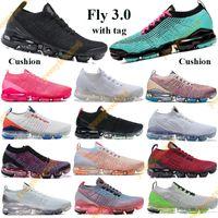 플라이 3.0 쿠션 실행 신발 트리플 블랙 스냅 가죽 사우스 비치 남성 여성 운동화 사막 모래 생생한 보라색 트레이너 태그 5.5-11