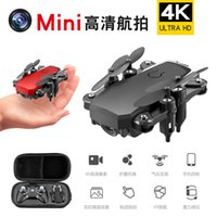 LF606 Wifi FPV RC Fold Drone Quadcopter With 4K Camera 360 Degree Rotating Outdoor Flying Aircrafts DHL