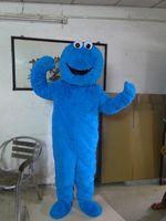 Cookie Monster Sesame Street Big Bird Mascot Disfraz de Mascota Hombre de felpa Lleva Rendimiento Prop Tumo Dibujos animados Caminar Traje Aimo