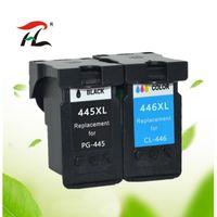 cartuccia di inchiostro compatibile per Canon PG-445 CL-446 sostituzione pg445 pg 445 cl446 per PIXMA MX494 MG2440 2540 2940 2840 MX494