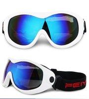 Güneş Gözlüğü 2021 Mono Katmanlı Toz Geçirmez TPU PC UV400 Bisiklet Tırmanma Kayak Googles Kar Gözlükleri