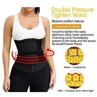Taille Support Trainer Femmes Body Shaper Minceur Slim Belt Yoga Tummy Control Control Sangle Sweat Gratuit Girle