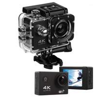 Caméras vidéo d'action sportive WIFI 1080P 4K ULTRA HD 16MP Caméra de sport Etanche 170 degrés Caméscope DVR de DVR de 5 degrés avec Remote1