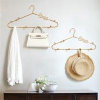 Gancho de metal para sacos de suspensão Roupas O banheiro Home Chave Gancho Suporte de parede Stand Decoração de casamento Gancho de parede decorativo 201218