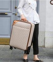 2021 Designer Donne Donne Valigie Donne Unisex Spinner Espandibile Carrello Brand Fashion Designer di lusso Carry-on Barding Bag Rotolamento Dei bagagli