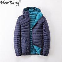 NewBang Brand Women Duck Coats Ultra Light Down Jacket Women Lieghtweight Double Side Reversible Jackets Women's Windbreakers 201203