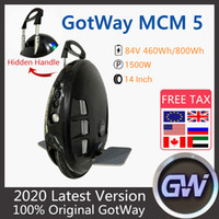 ORIGINAL GOODWAY GAODE MCM5 Unicycle 84V 800WH Electric Self Balance Scooter de 14 pulgadas One Wheel One Wheel Scooter eléctrico con aplicación