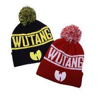 Wutang beanies جديد أزياء الشتاء وو تانغ عشيرة للنساء الرجال الهيب هوب محبوك القبعات صوف قبعات