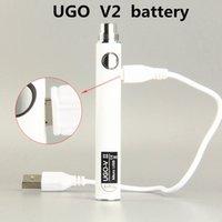 510 Thread Battery UGO VII 2 PreheatVV 650mah 900mAh USB Voltage Variable Adjustable Vapor BUD Pre Heat Vape Cartridges Batteries