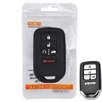 Custodia per chiave per auto a distanza in silicone a 5 pulsanti per Honda Civic Accord CR-V pilota CRV 2015 2017 2017 Protezione del guscio del supporto