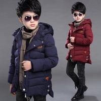 아기 소년 겨울 재킷 키즈 후드 겉옷 하이킹 소년에 대 한 파카 코트 의류 3 5 6 7 8 9 10 11 12 14 14 세 Y200901