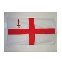 Stadt der Londoner Flagge 3X5FT Drucken 100D Polyester Outdoor Hangjing Club Digitaldruck Banner und Flaggen Großhandel