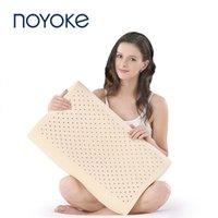 Noyoke Latex Sleeping Pillow Massage Soft Elastic Releast Pressure Collo Supporto cuscini cervicale Assistenza sanitaria del cervicale Regalo di lusso 201130