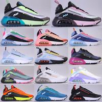 새로운 남성 디자이너 신발 2090 러닝 신발 Betrue 마그마 오렌지 블랙 화이트 야외 육상 남자 캐주얼 스포츠 트레이너 운동화 36-45