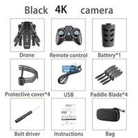 KK8 4k HD WiFi FPV Faltbare Mini Drohne Spielzeug, Foto von Gesture, Flugzeugflug, Schönheitsfilter, Höhenhold, 360 ° Flip Quadcopter, Useu