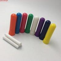 Bâtons d'inhalateur nasal vierges, des inhalateurs bâton (couleur blanche, fabrication, 4 parties / ensemble, livraison gratuite 100 ensembles / lot) Haute Qualtiy