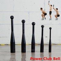 Dumbbells 6 كيلوجرام غير قابل للكسر البيسبول الخفافيش، السلطة نادي جرس ممارسة أجراس الوزن، قبضة ومدرب قوة الساعد