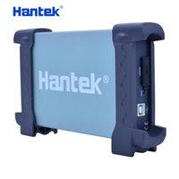 Osciloscopios Hantek 6204BE 200MHZ Osciloscopio automotriz 4 canales 1GSA / S PC portátil PC portátil Pandheld Digital Osciloscopio Diagnóstico-Herramienta