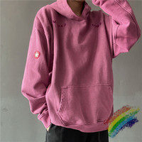 Heavy Hoody Women Uomo 1 Eyra Quality Wine Red Wash Hoodie Maglione pullover