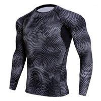 Abbigliamento da palestra 2021 T-shirt da uomo a secco T-shirt da uomo con calzamaglia sportiva Sport Sports RashGard uomo camicia da corsa Demix uomo sportivo da uomo