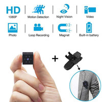 Nuevo HD Mini Cámara Espía Camara Video Profesional Video Digital Vlog Sport Night Vision Small Kamera Support Hidden TF CARD1