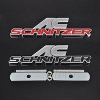 Logotipo de logo do emblema do emblema da grade do carro do metal para BMW AC Schnitzer M M3 M5 E46 E39 E36 E34 E90 x1 x3 x5 x6