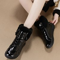 Brand New Ladies Plush Ankle Boots Fashion Waterproof Winter Warm Fur Snow Boots Women 2021 Casual Soft Shoes Woman