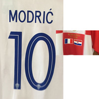 2018 Final Game Modric Printing With Final Match Details Cusomize Any Name Number Soccer Nameset Patch